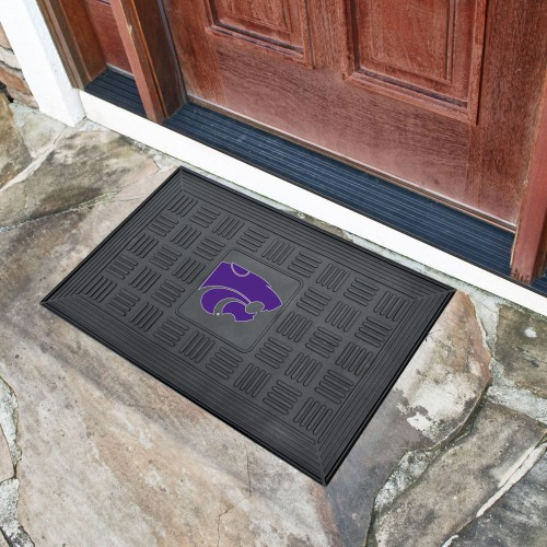 Kansas State Door Mat 19.5