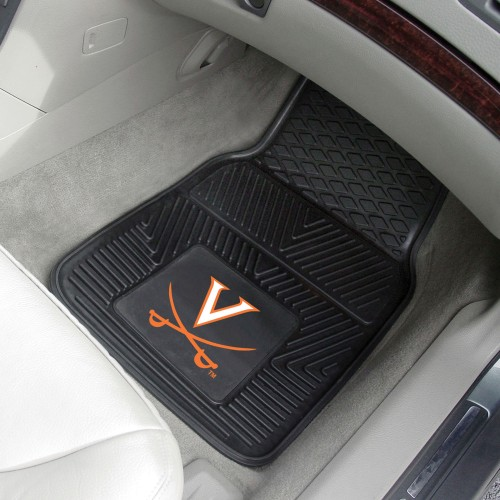 Virginia 2-pc Vinyl Car Mats 17