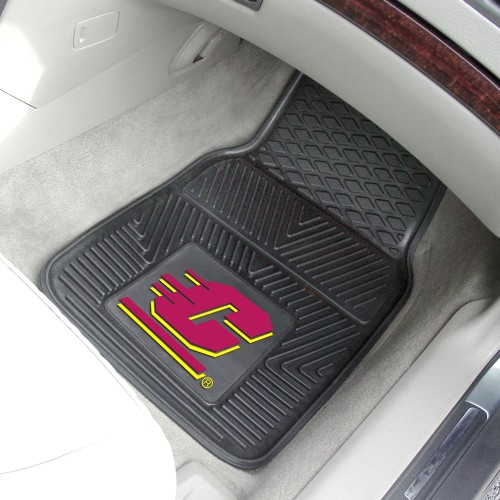 Central Michigan 2-pc Vinyl Car Mats 17