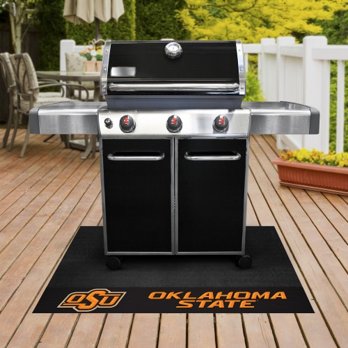 Oklahoma State Grill Mat 26