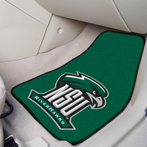 Northeastern State 2-pc Carpeted Car Mats 17
