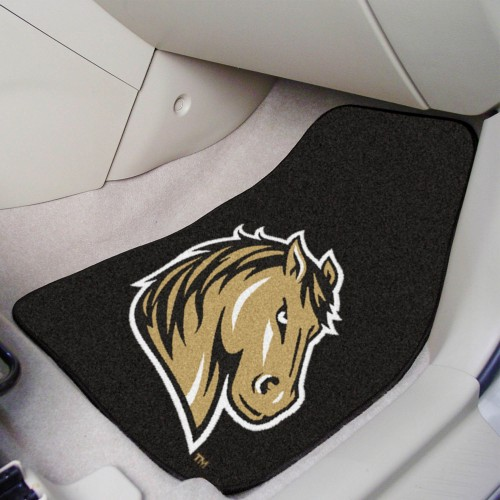 Southwest Minnesota State 2-pc Carpeted Car Mats 17