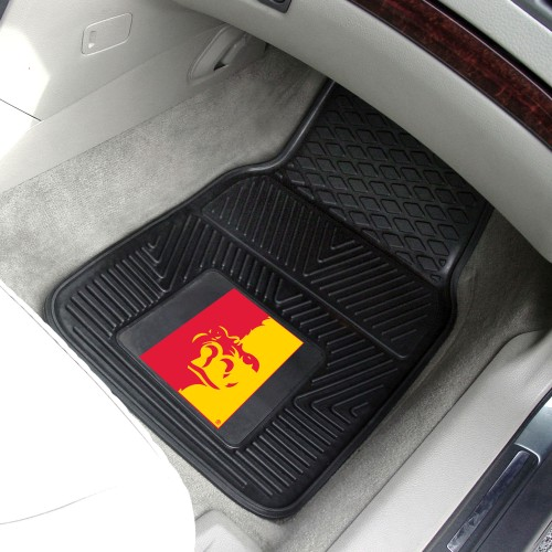 Pittsburg State 2-pc Vinyl Car Mats 17