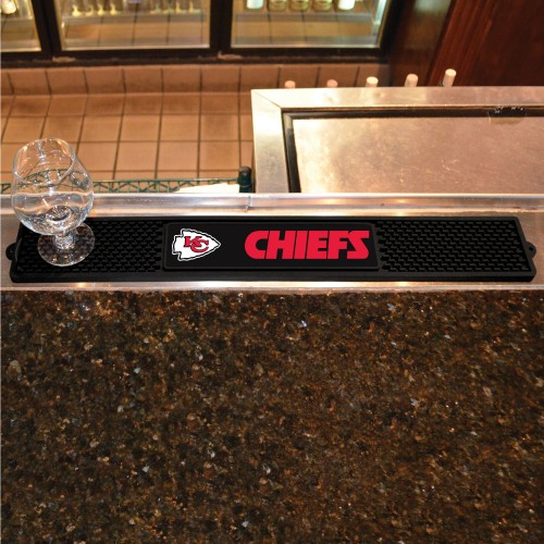 "NFL - Kansas City Chiefs Drink Mat 3.25""x24"""