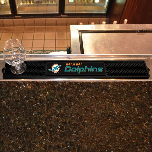 NFL - Miami Dolphins Drink Mat 3.25