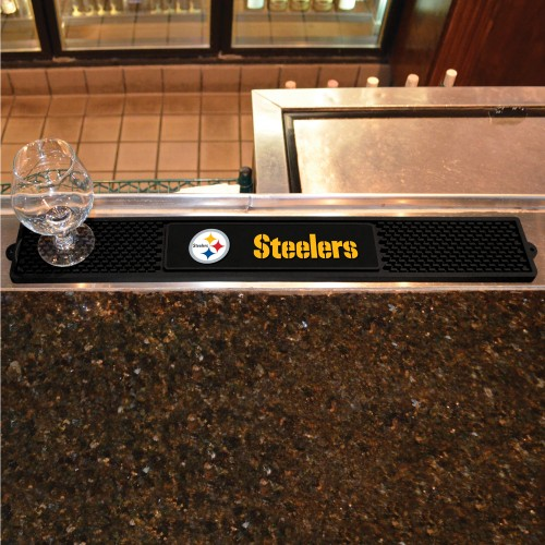 NFL - Pittsburgh Steelers Drink Mat 3.25