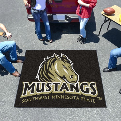 Southwest Minnesota State Tailgater Rug 5'x6'