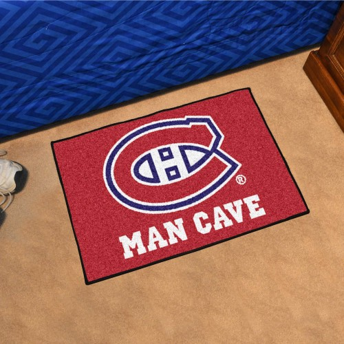 NHL - Montreal Canadiens Man Cave Starter Rug 19