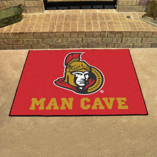NHL - Ottawa Senators Man Cave All-Star Mat 33.75