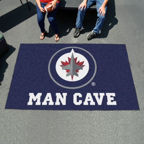 NHL - Winnipeg Jets Man Cave UltiMat 5'x8' Rug