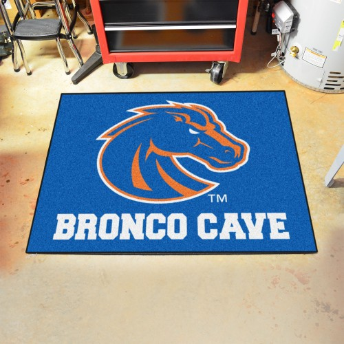 Boise State Man Cave All-Star Mat 33.75