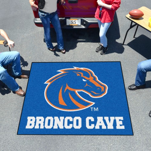 Boise State Man Cave Tailgater Rug 5'x6'