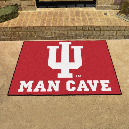 Indiana Man Cave All-Star Mat 33.75