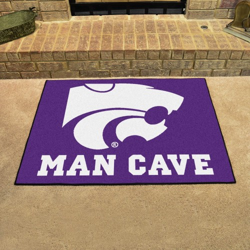 Kansas State Man Cave All-Star Mat 33.75