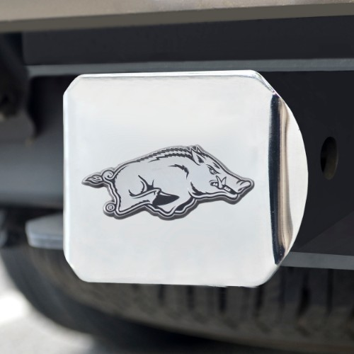Arkansas Chrome Hitch Cover 4 1/2