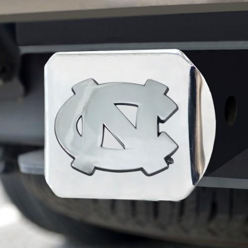 North Carolina Chrome Hitch Cover 4 1/2