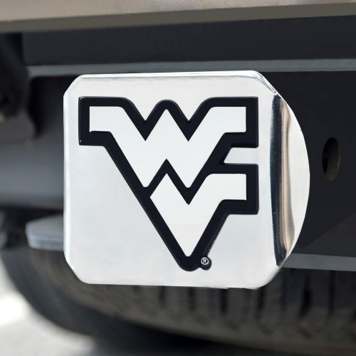 West Virginia Chrome Hitch Cover 4 1/2