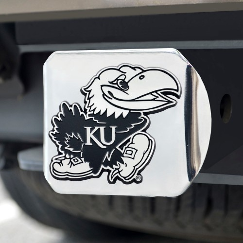 Kansas Chrome Hitch Cover 4 1/2