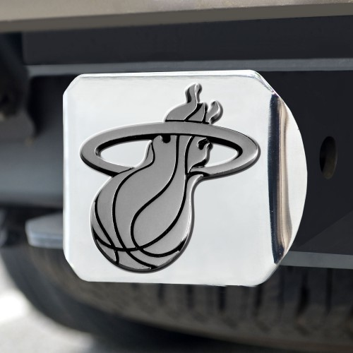 NBA - Miami Heat Chrome Hitch Cover 4 1/2