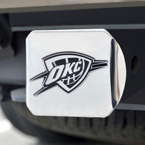 NBA - Oklahoma City Thunder Chrome Hitch Cover 4 1/2