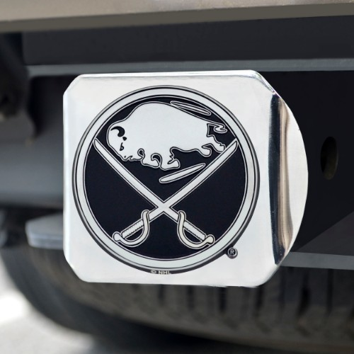 NHL - Buffalo Sabres Chrome Hitch Cover 4 1/2