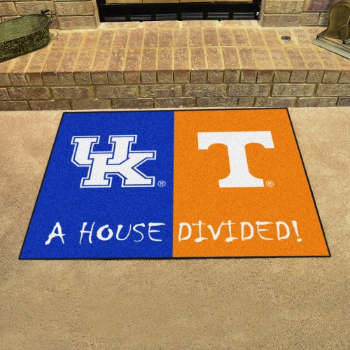 Kentucky - Tennessee House Divided Rug 33.75