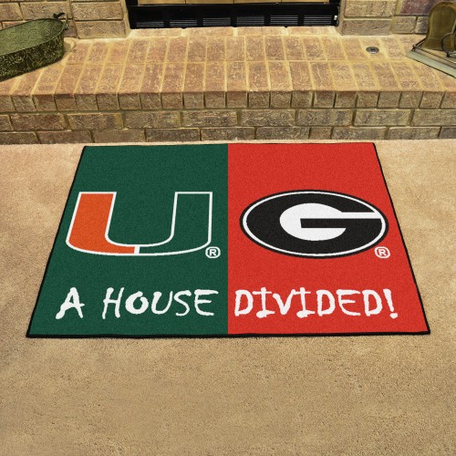 Miami - Georgia House Divided Rug 33.75