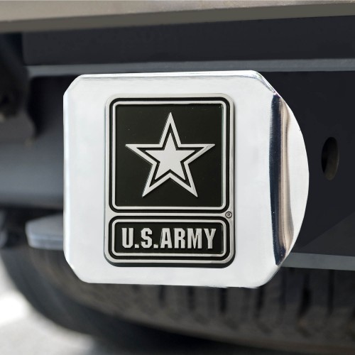 Army Chrome Hitch Cover 4 1/2