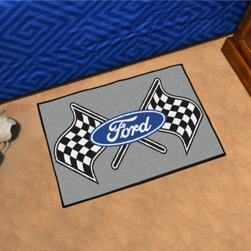 Ford Flags Starter Rug 19