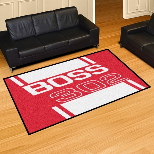 Boss 302 5'x8' Rug - Red