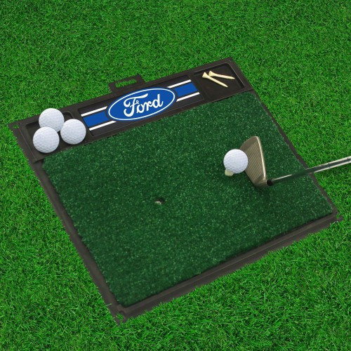 Ford Oval with Stripes Golf Hitting Mat 20