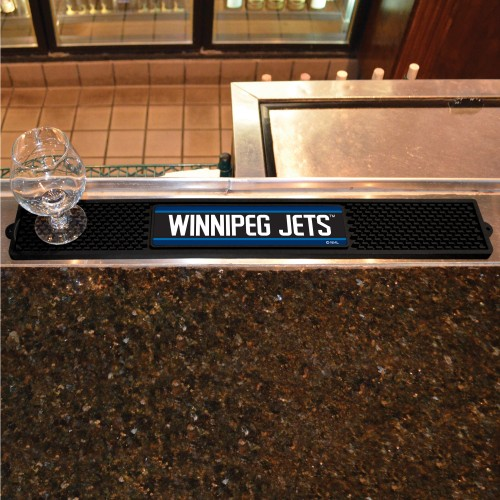 NHL - Winnipeg Jets Drink Mat 3.25
