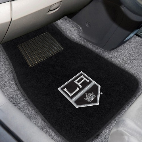 NHL - Los Angeles Kings 2-pc Embroidered Car Mat Set