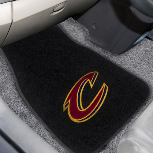 NBA - Cleveland Cavaliers 2-pc Embroidered Car Mats 18
