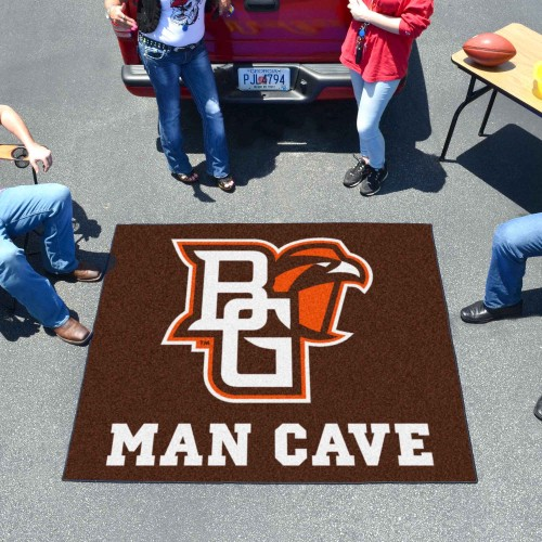 Bowling Green Man Cave Tailgater Rug 60