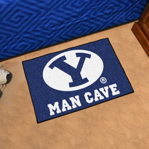 Brigham Young Man Cave Starter Rug 19