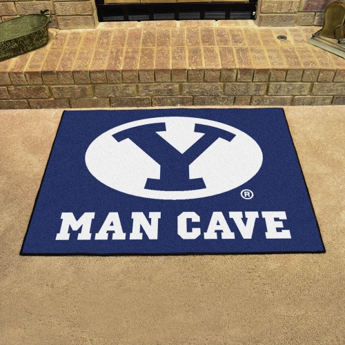 Brigham Young Man Cave All-Star Mat 33.75