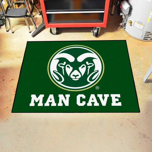 Colorado State Man Cave All-Star Mat 33.75
