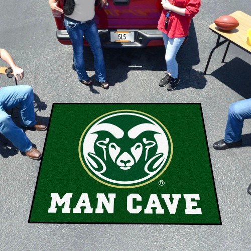 Colorado State Man Cave Tailgater Rug 5'x6'