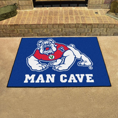 Fresno State Man Cave All-Star Mat 33.75
