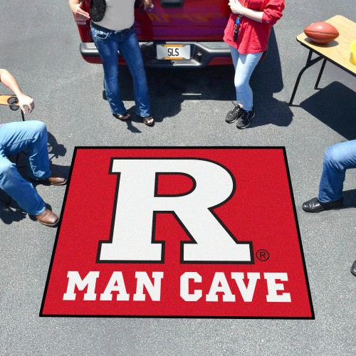 Rutgers Man Cave Tailgater Rug 5'x6'