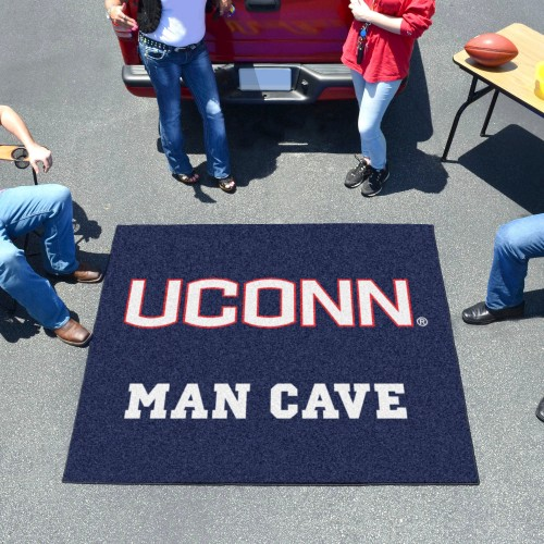 Connecticut Man Cave Tailgater Rug 5'x6'