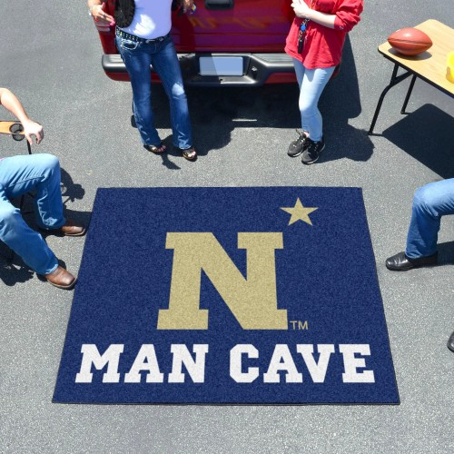 U.S. Naval Academy Man Cave Tailgater Rug 5'x6'