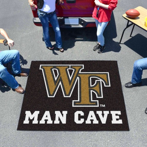 Wake Forest Man Cave Tailgater Rug 5'x6'