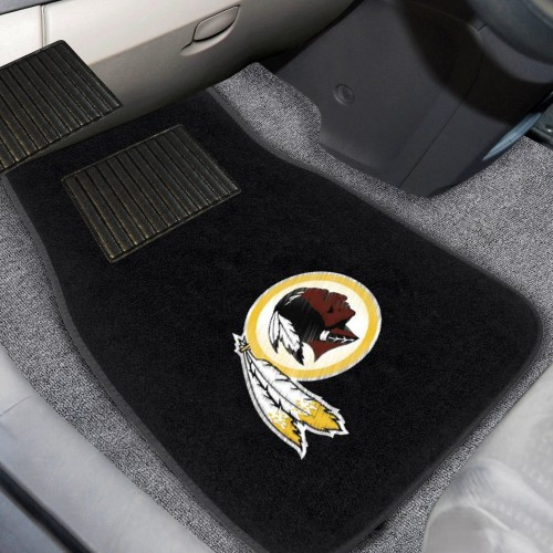"NFL - Washington Football 2-pc Embroidered Car Mats 18""x27"""