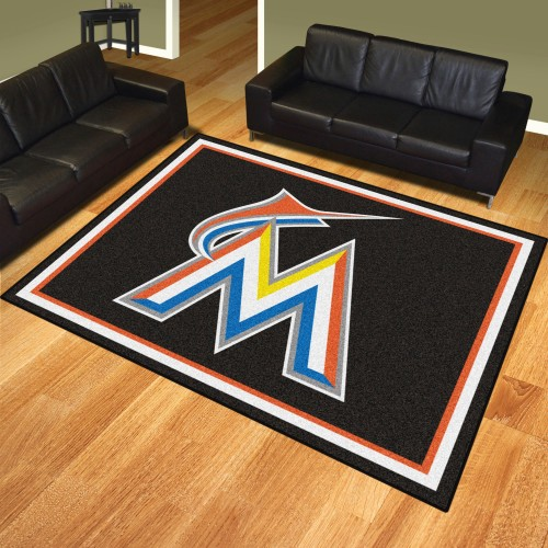 MLB - Miami Marlins 8'x10' Rug