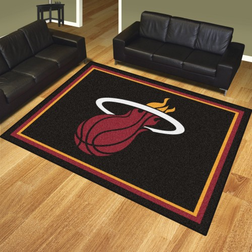 NBA - Miami Heat 8'x10' Rug