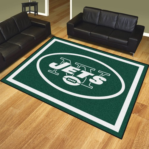 NFL - New York Jets 8'x10' Rug