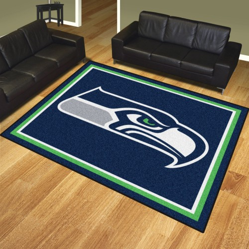 NFL - Seattle Seahawks 8'x10' Rug