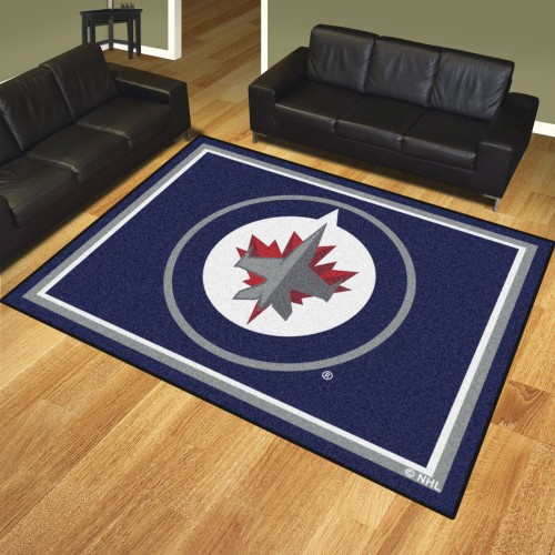 NHL - Winnipeg Jets 8'x10' Rug